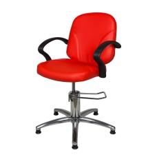 Кресло для парикмахерской БРИЗ Модерн гидравлика хром