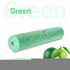 Простынь 70*200 см зеленая Standart 100 шт/рул