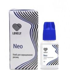 Клей для наращивания Lovely Neo черный